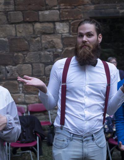 I ragazzi di Si può fare allo scambio interculturale in Scozia