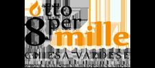 Logo 8permille Chiesa Valdese